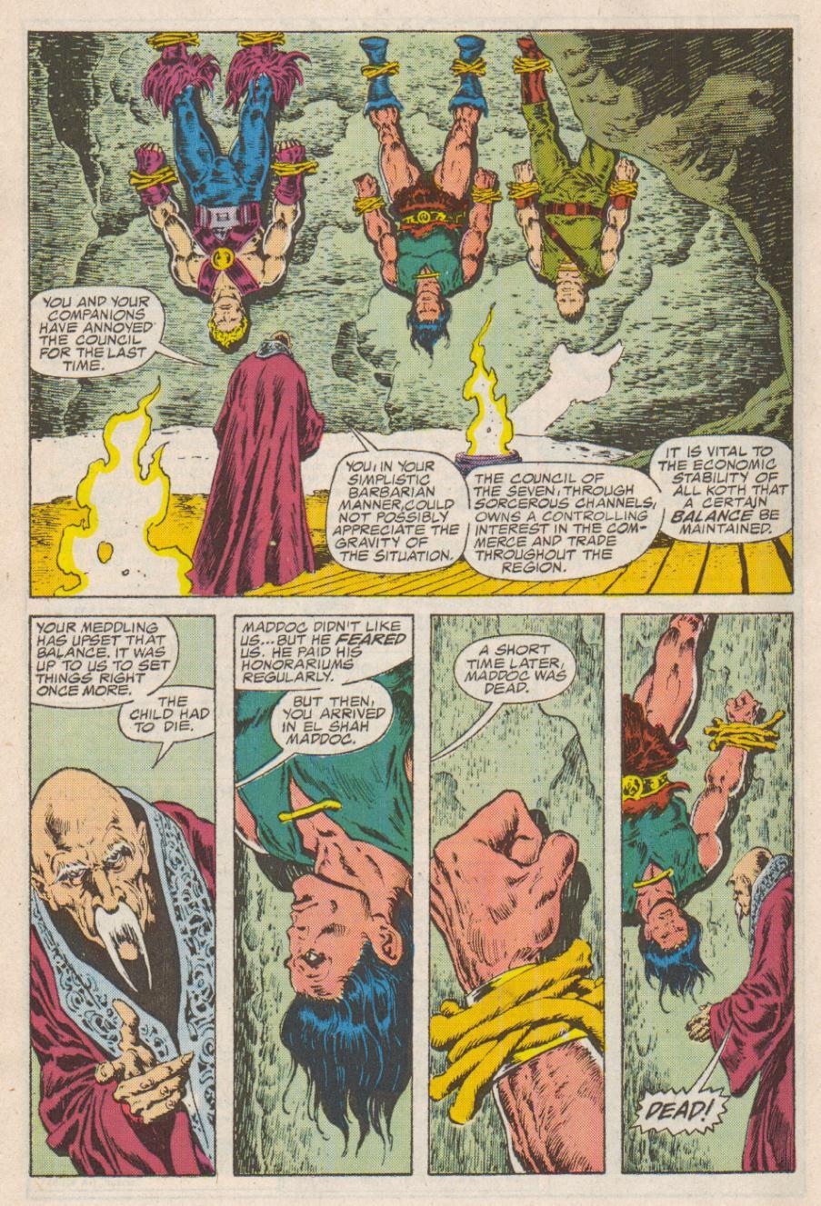 Conan the Barbarian (1970) Issue #190 #202 - English 19