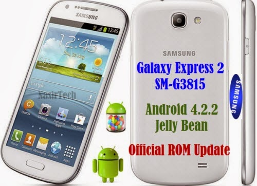 G3815XXUBML1 For Galaxy Express 2 4.2.2 Jelly Bean Firmware