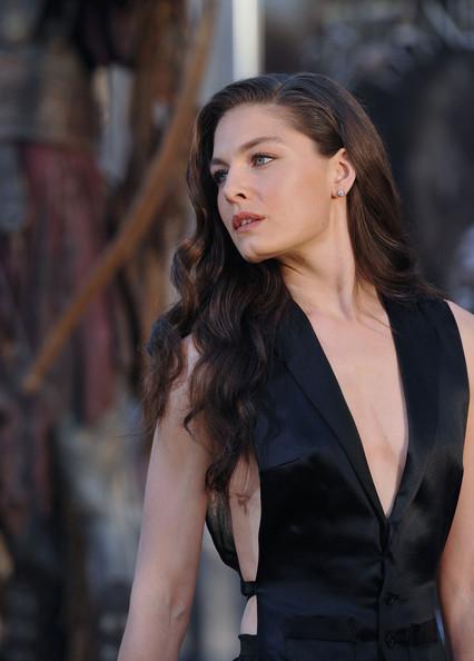 hot celebrities alexa davalosquotclash of the titansquot premiere