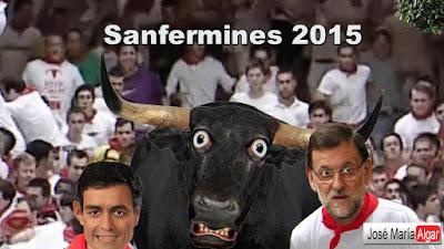 Sanfermines 2015. Los dos peores toros. 12