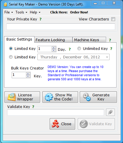 serial key maker enables .net developers to easily incorporate serial
