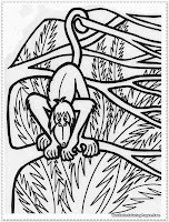 jungle animal coloring pages preschoolers