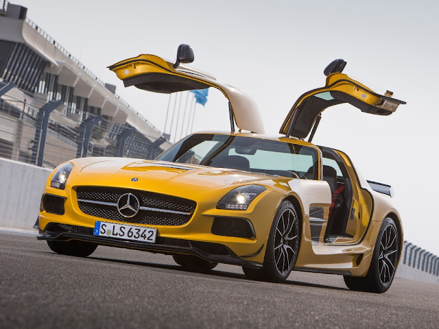 Mercedes-Benz SLS 63 AMG Black Series