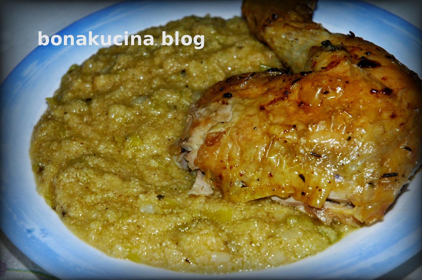 Eccezionale Bona Kucina: Pershesh me buke misri (cucina albanese) JN87