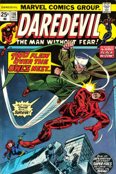 Daredevil #116, the Owl