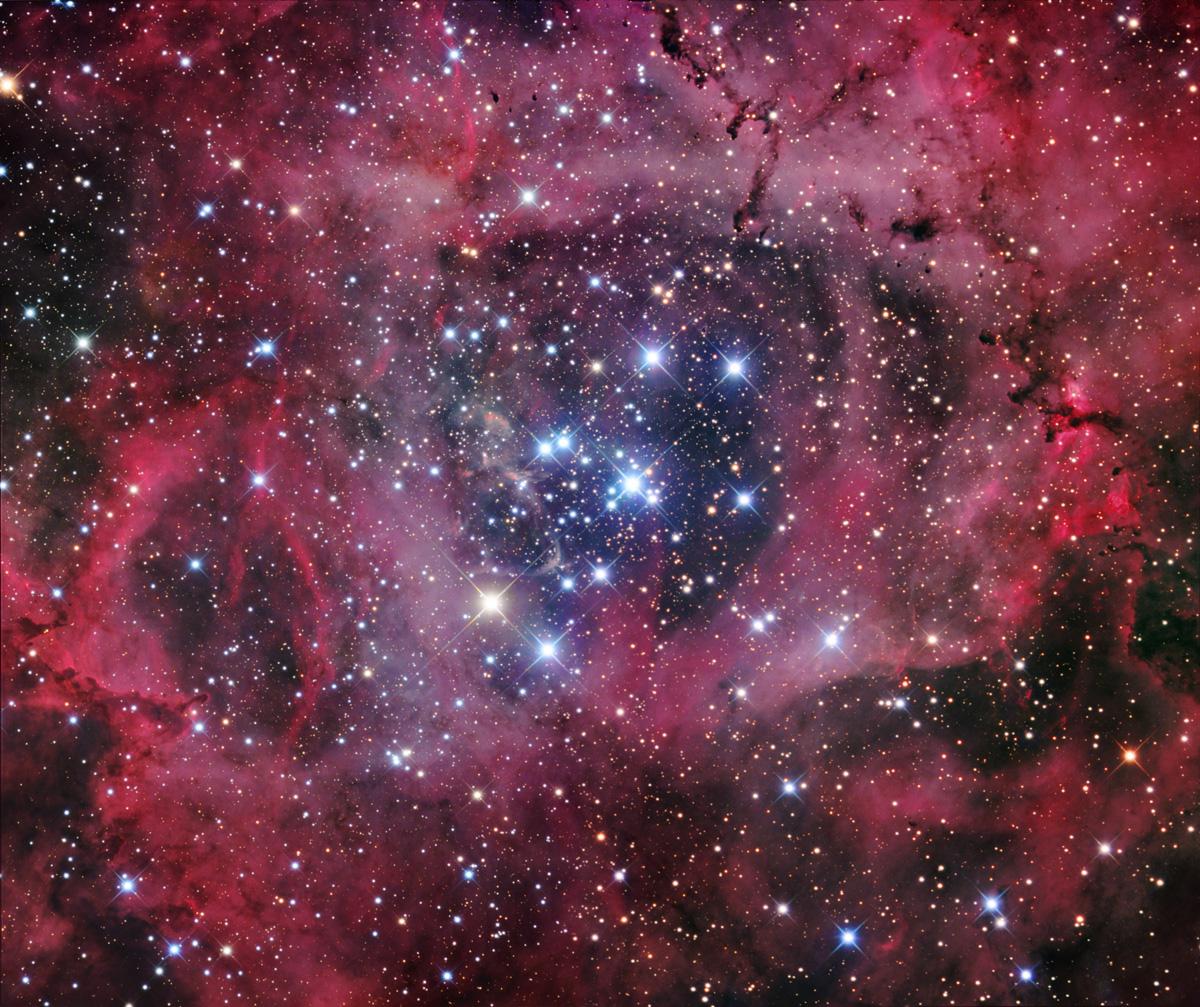 rosette nebula - wallpaper hd | earth blog