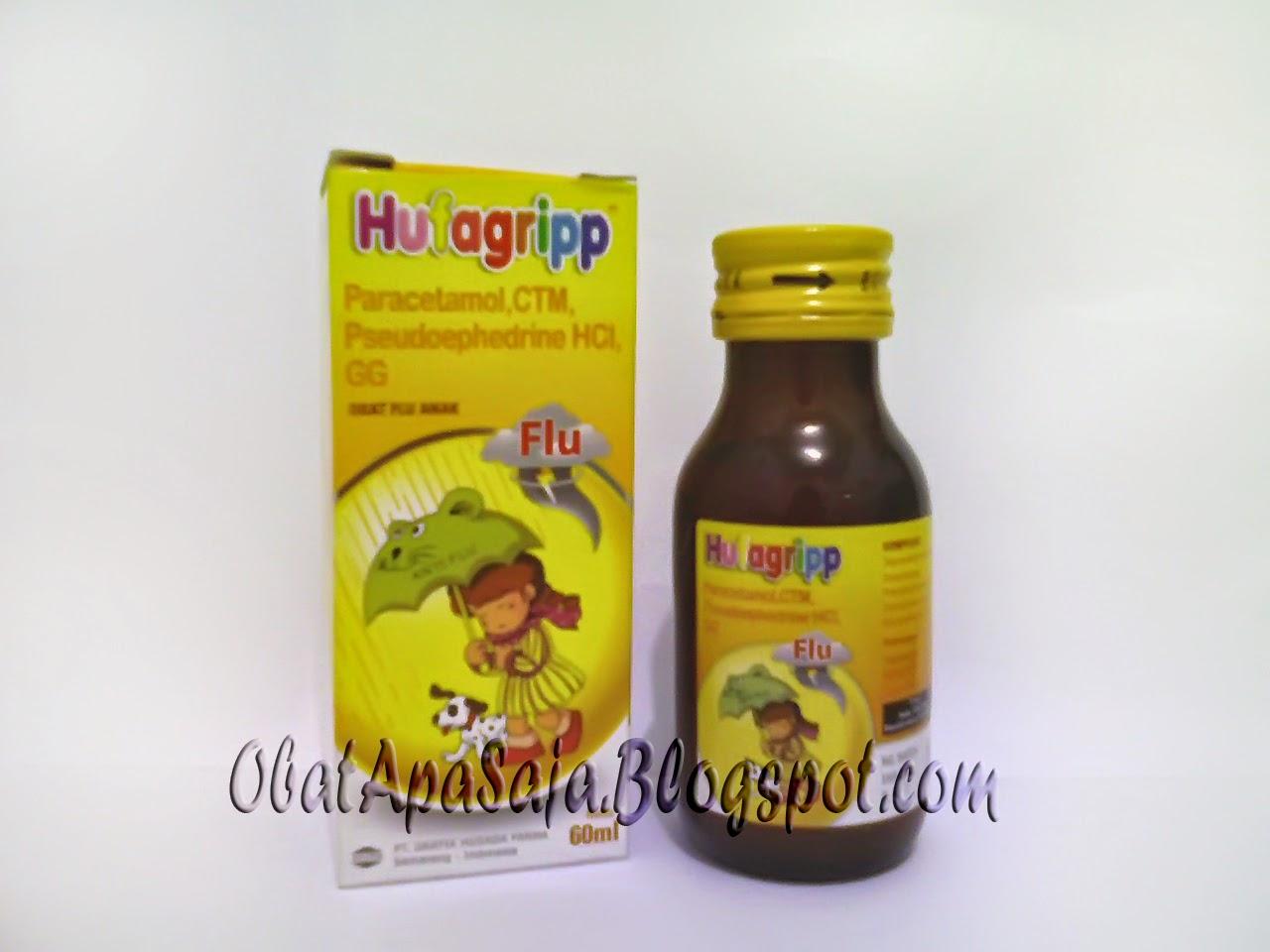 Hufagripp Flu Meringankan Gejala-gejala Flu Pada Anak