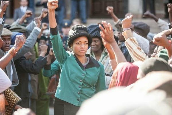 """Naomie Harris en """"Mandela: del mito al hombre"""""""
