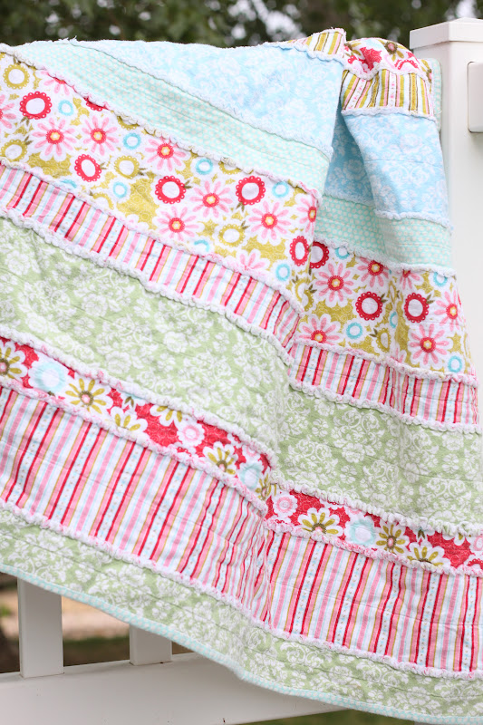 Do It Yourself Divas Diy Baby Rag Quilt