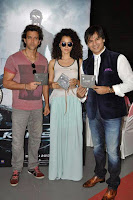 Hrithik, Kangna & Vivek at Krrish 3 Audio Launch Event Gallery