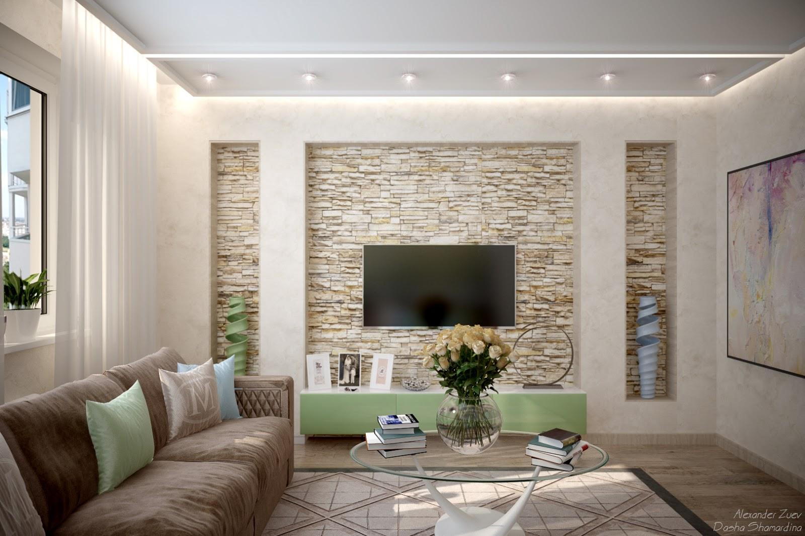 Дизайн ниши в гостиной фото