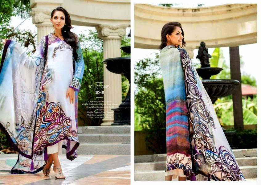 Resham Ghar Chiffon Collection-14