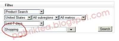 Mencari Hot keyword dengan Google Insight Search