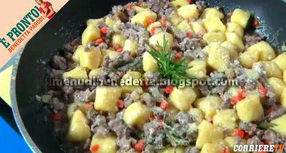 Gnocchi di polenta con ragù d'anatra di Benedetta Parodi