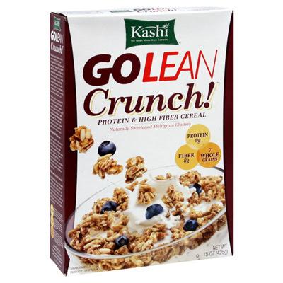 Kashi go lean cereal healthy