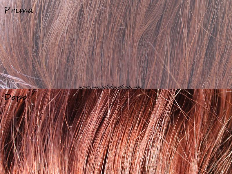 review cc cream capelli rosso amarena collistar