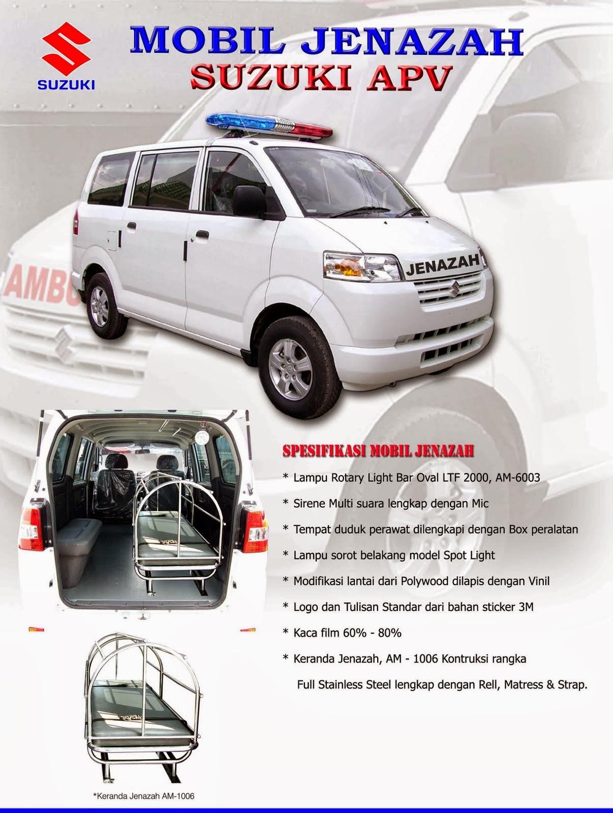 APV Ambulance Spesifikasi Jenazah 2014