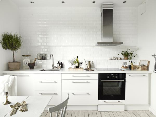cocina apartamento nórdico  clásicos