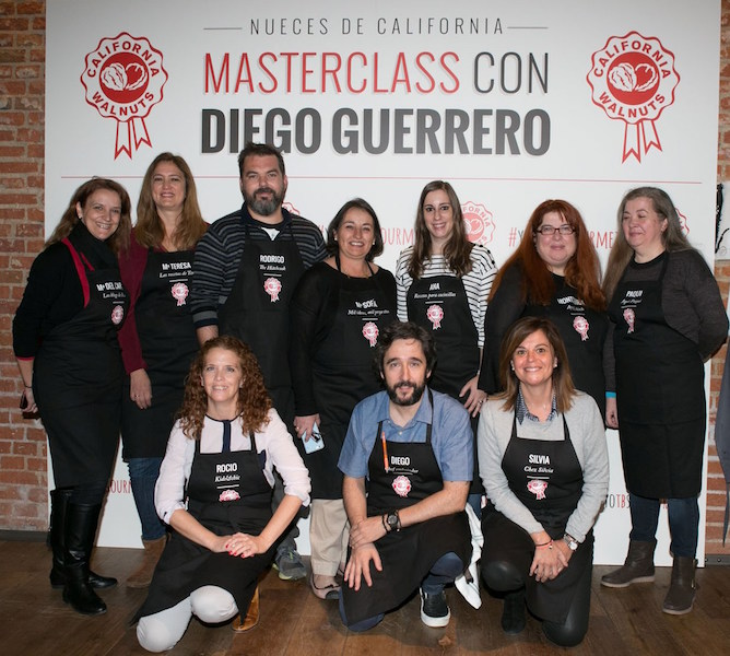 Masterclass con Diego Guerrero y Nueces de California