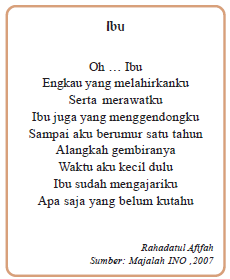 Jenis dan Ciri Puisi