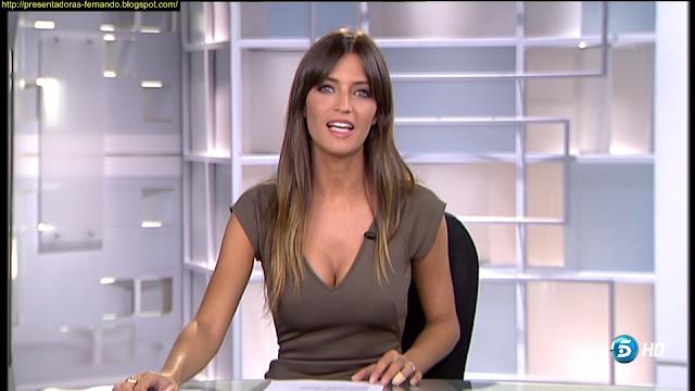 Sara Carbonero marcando