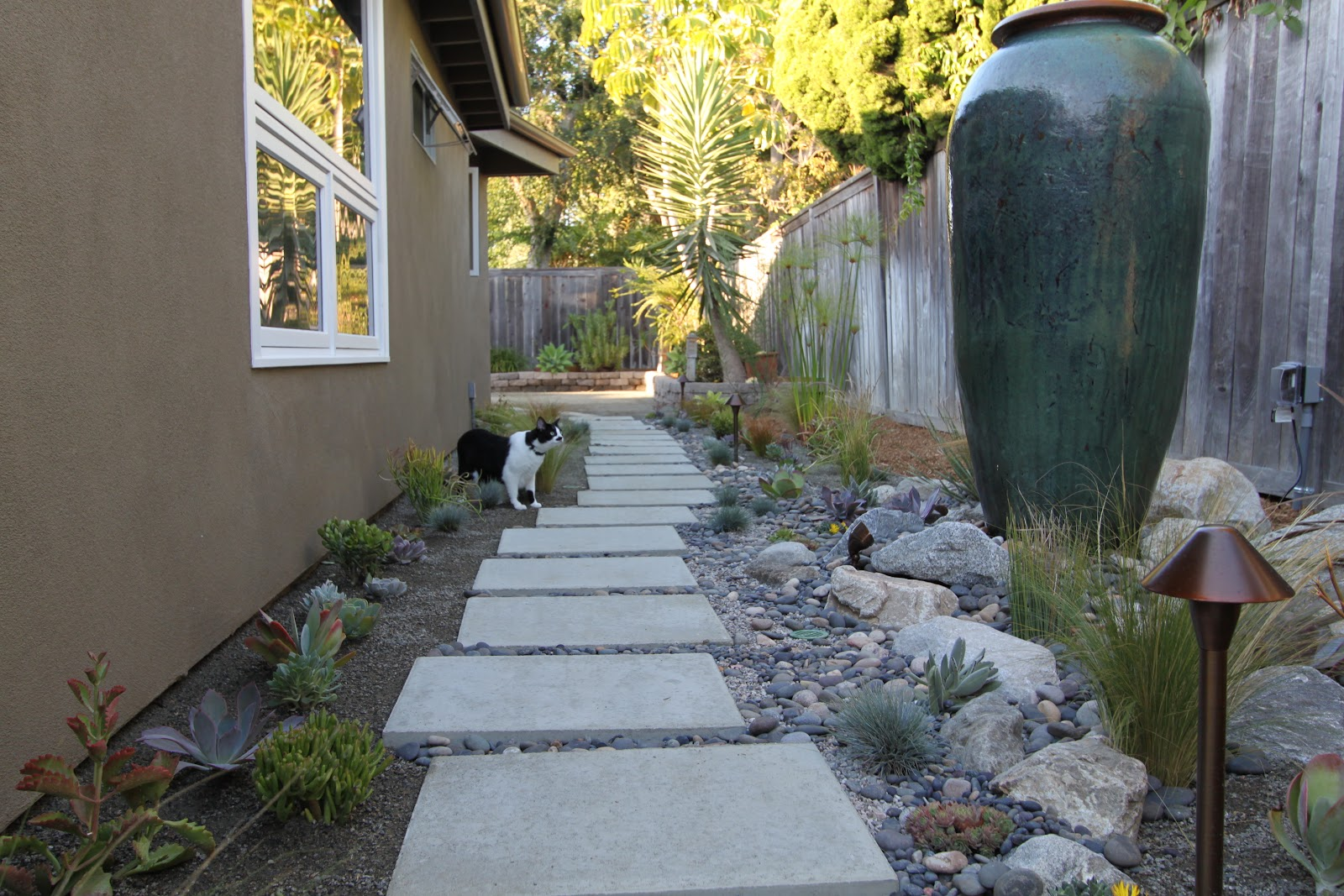 landscaping a mid century modern home