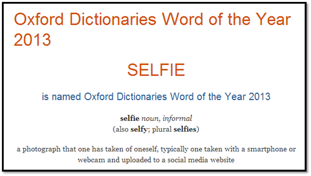 the oxford dictionaries word of the year 2013