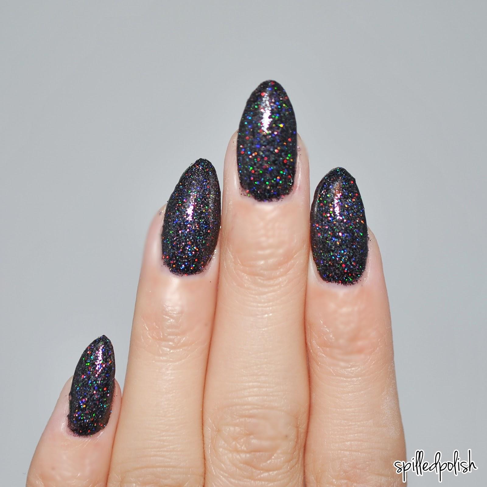 Super Black Holographic Nail Polish Uk: Spilledpolish: Beyond The Nail