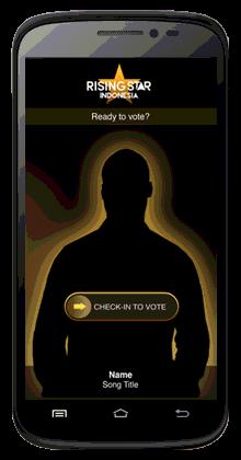 cara vote rising star indonesia