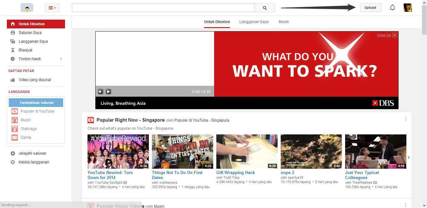 Cara Upload Video YouTube 2