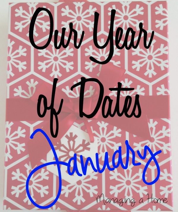Year of Dates Ideas - Our January Date - Cooking Class | Managing a Home