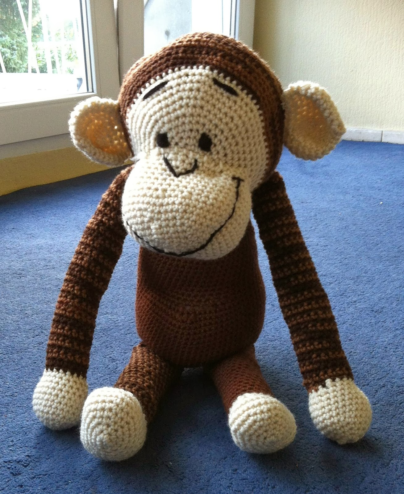 Amigurumi Go Monkey : Crochet Crazy: Mr. Monkey -- My First and Only Attempt (So ...