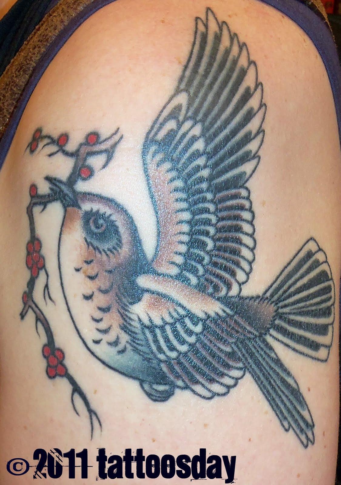 tattoosday a tattoo blog tova 39 s mockingbird takes wing