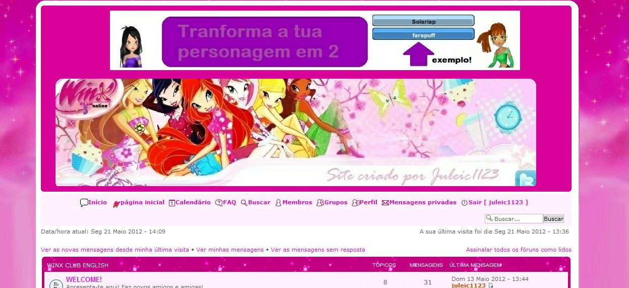 Como meto o meu forum sem imagem quadrada no cabeçalho? Sem+T%C3%ADtulo