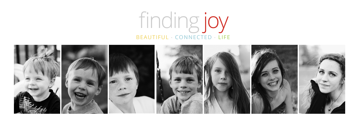finding joy