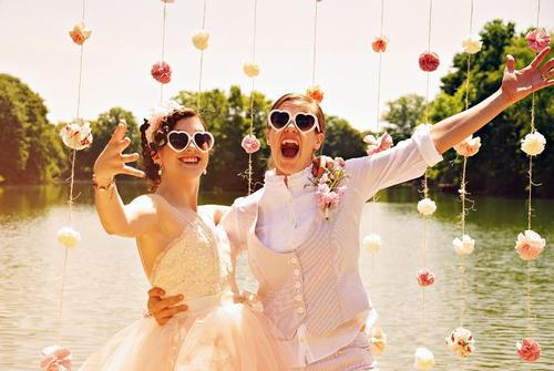Lesbian matrimony