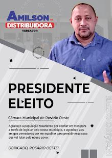 Câmara Municipal de Rosário Oeste Presidente Cesar da Fármacia