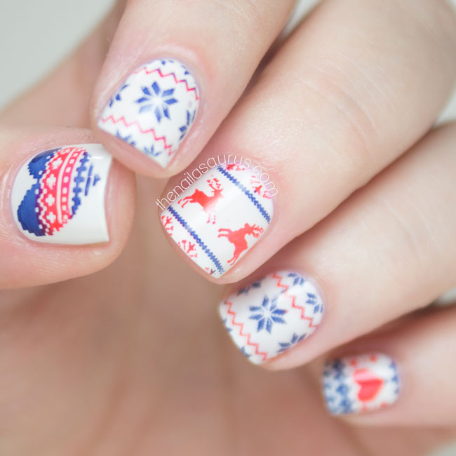Fair Isle Nail Art, New eBay Collection and a Giveaway - The ...