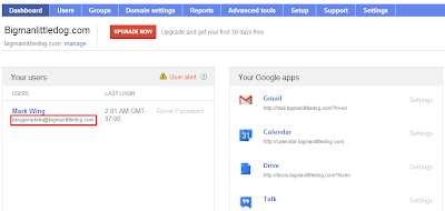Google Apps Domain Registration - Google Apps Control Panel