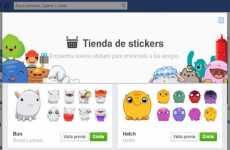 Stickers para el chat de Facebook: ahora están disponibles en la versión web