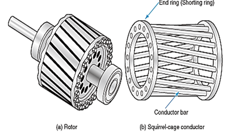 Wound Rotor Induction Motor Construction