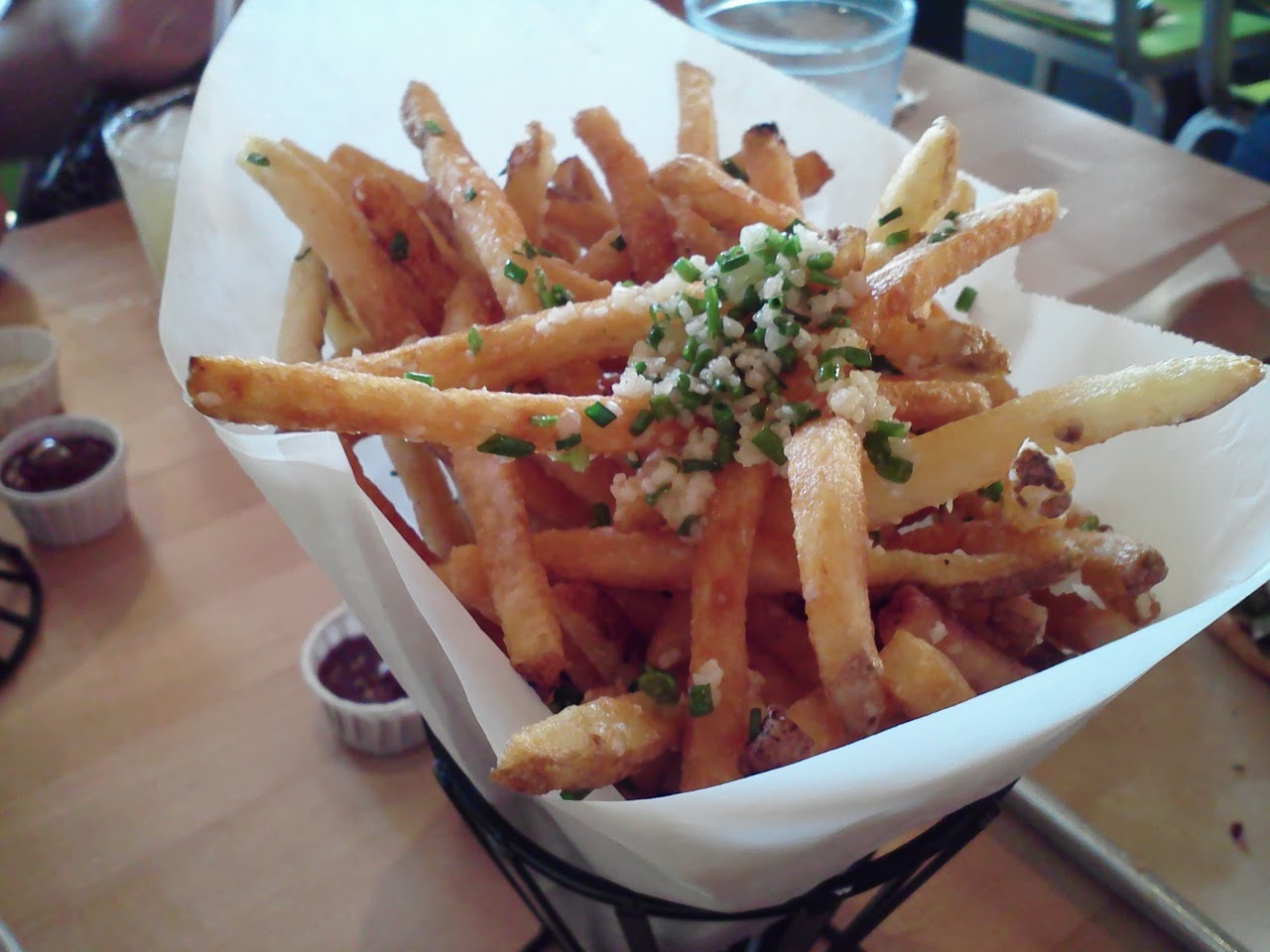 Hopdoddy truffle fries