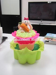 coco bunny cake