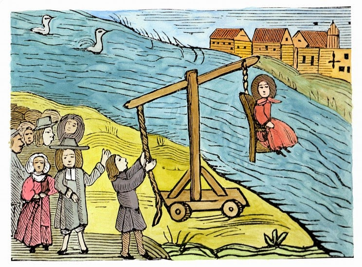 discrimination and the salem witch trials Every depiction at halloween of a witch is of a woman  occurred during this  time frame, also occurred during the salem witch trials as well.