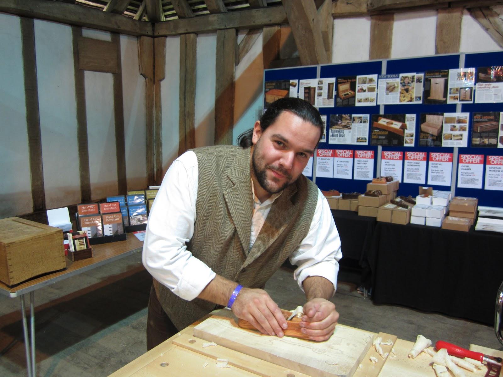 ... Barron Furniture: Tom Lie Nielsen at the European Woodworking Show