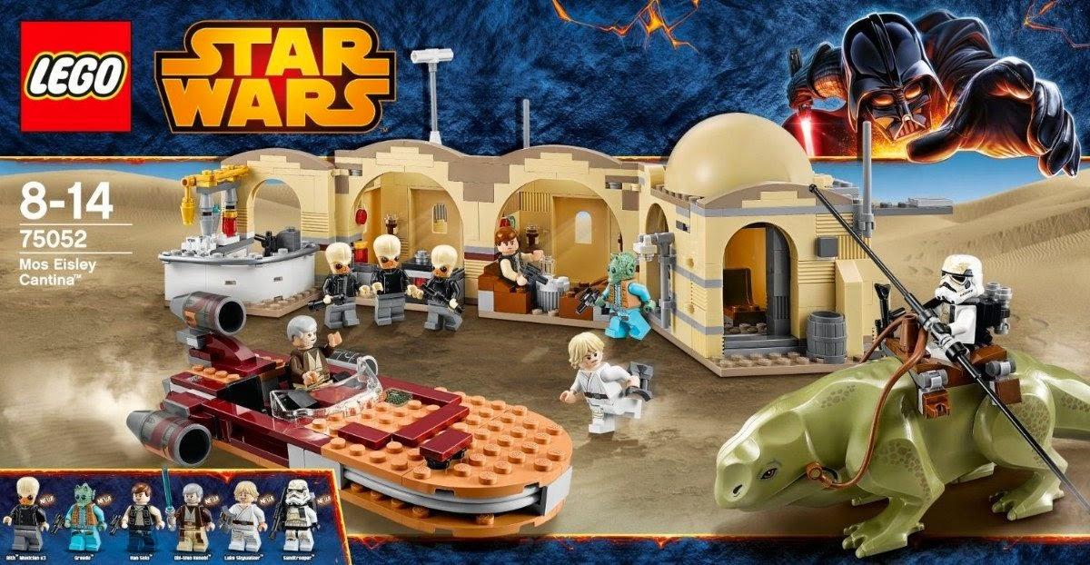 Caja de Lego Cantina Mos Eisley