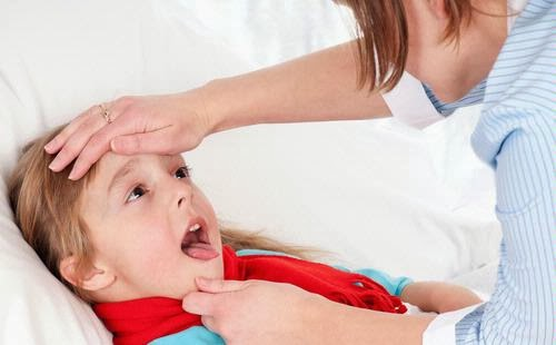 Cara Mengatasi Radang Tenggorokan Pada Anak