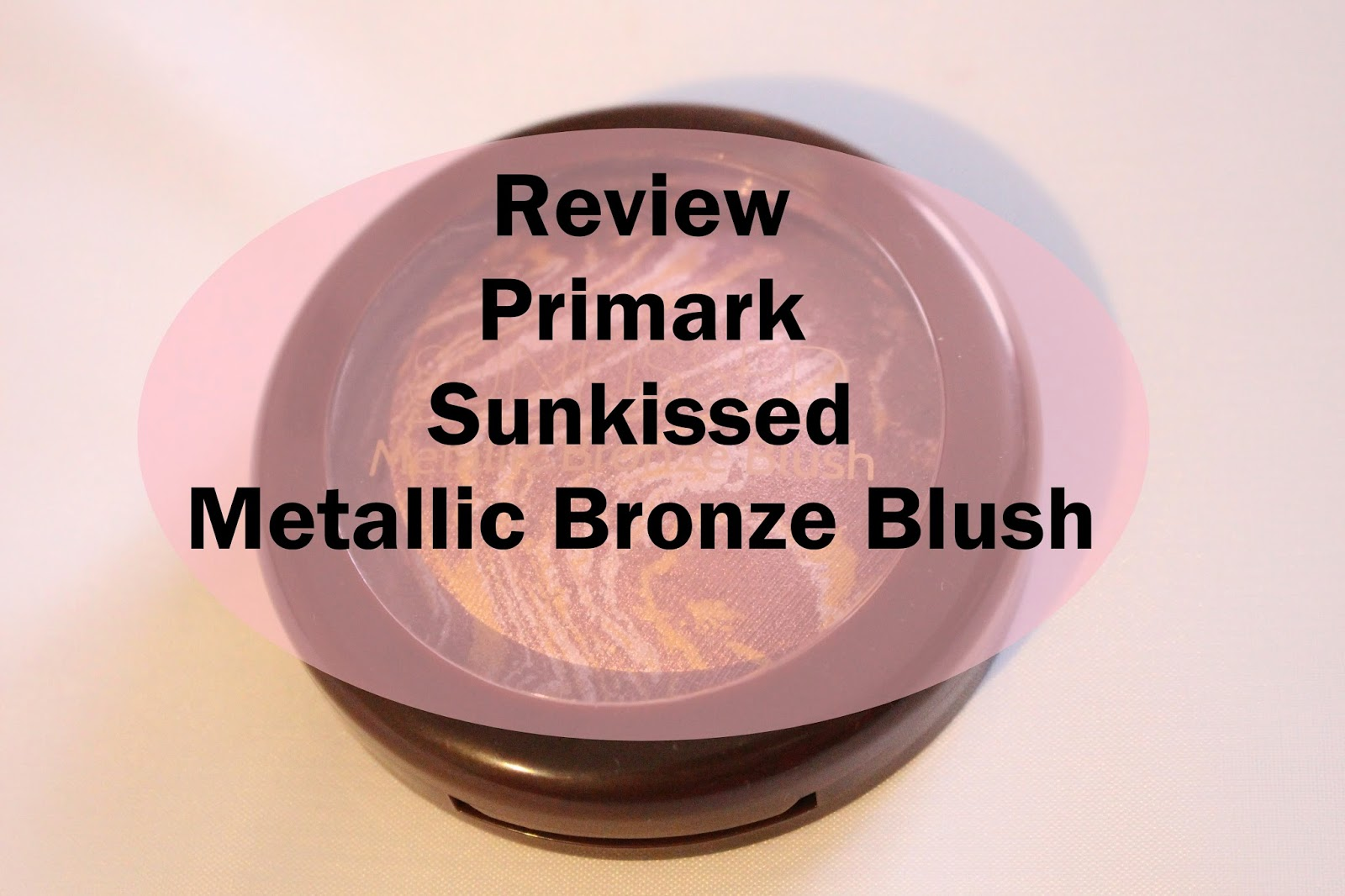 Primark Sunkissed Metallic Bronze Blush