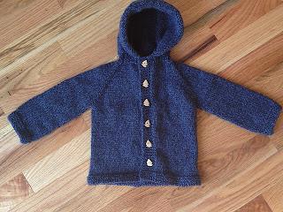 One Piece Knit Sweater Pattern : 2 Stix & A String: Lillies Little Sweater