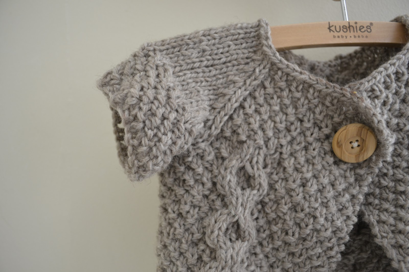 Easy Baby Jacket Knitting Pattern : Thread and Ladle: Otto Day Cardigan (Knitting Pattern!)